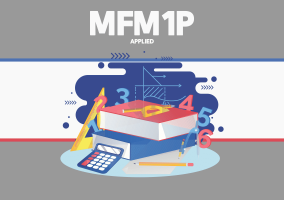 MPM1D – Principles of Mathematics – Grade 9