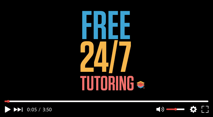 Free 247 Tutoring